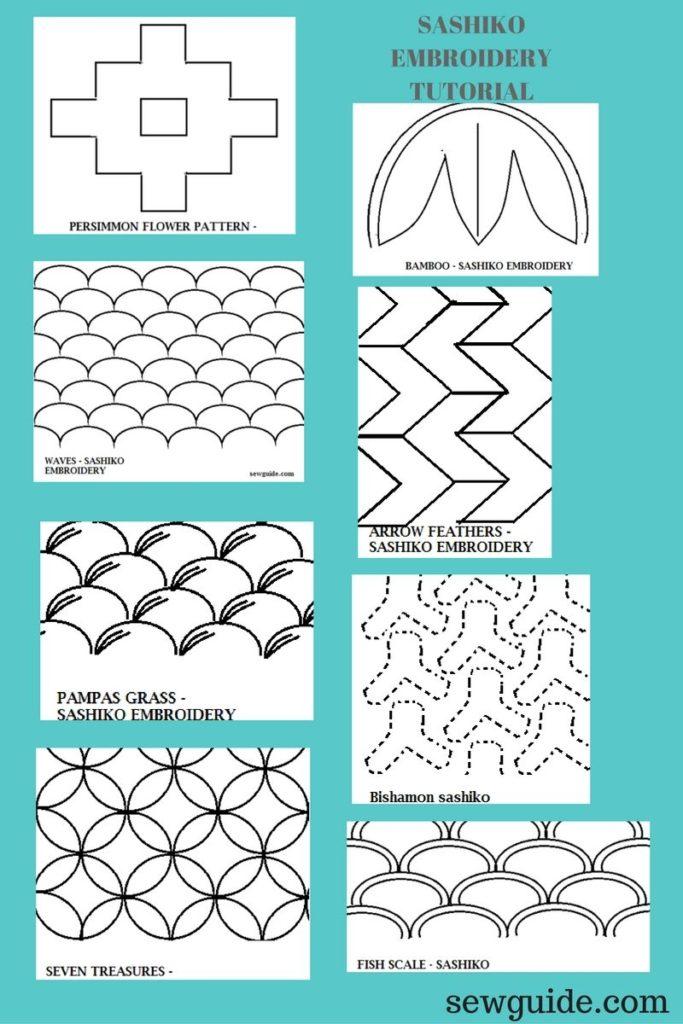 sashiko design motifs