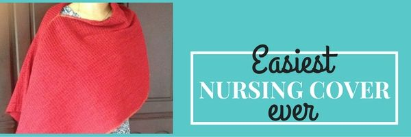 how to sew a nursing cover
