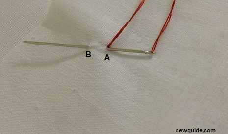 how to make a bullion stitch