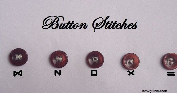 how to sew buttons