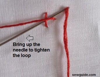 knot stitches