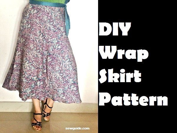 Make a beautiful {WRAP SKIRT} -DIY Pattern & Tutorial - Sew Guide
