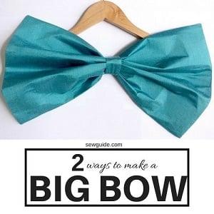 7 ways to make gorgeous { FABRIC BOWS }