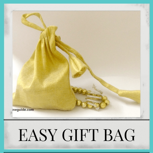cloth gift bag
