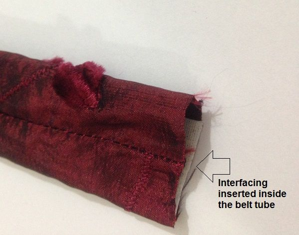 bow belt tutorial