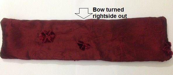 bow belt diy