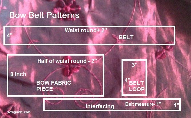 make bow belt