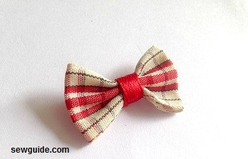 fabric bow diy