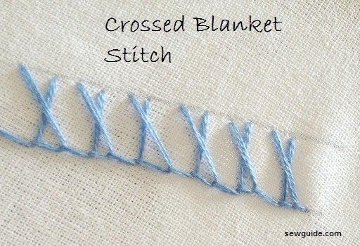 11 beautiful ways to do a BLANKET STITCH - Sew Guide
