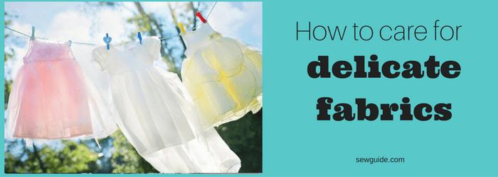 washing delicate fabrics