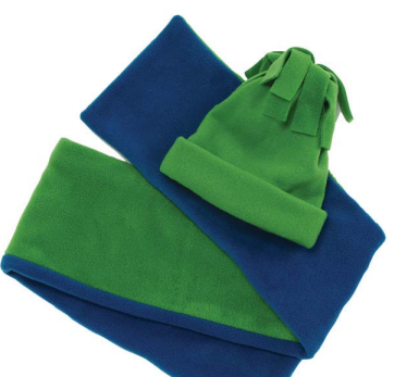 914d1e417037a Easy to sew Fleece hat and scarf pattern from Joann.com