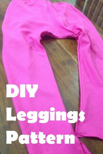 how to make a leggings - diy