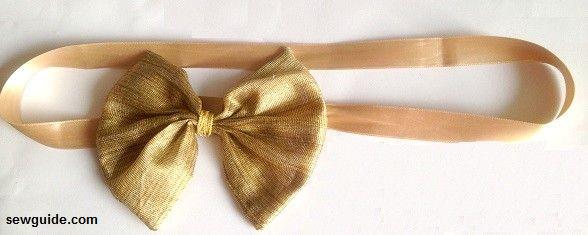 ribbon bow belt