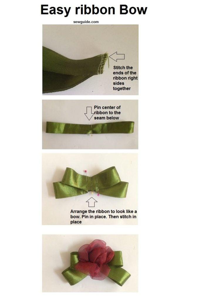 make a ribbon bow