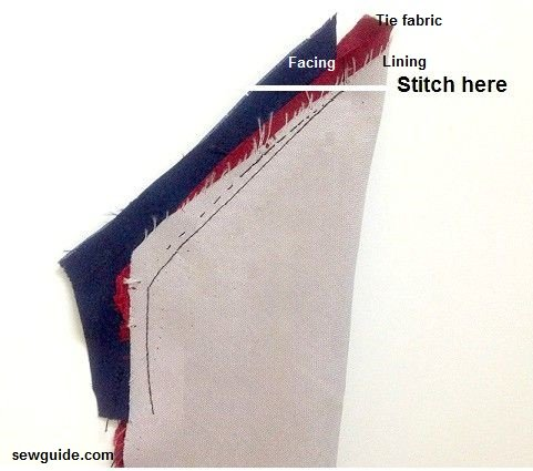 sew a tie