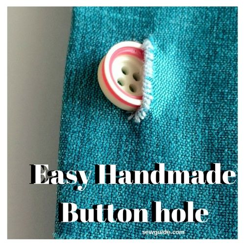 Easy Handmade Buttonhole
