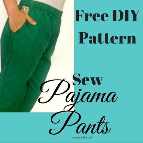 pyjama pants pattern