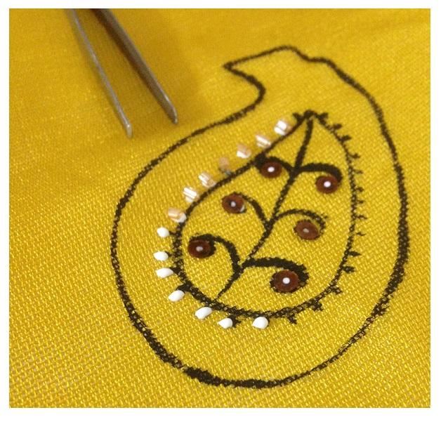 design bandana paisley