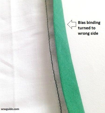 bias tape binding