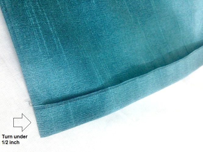 Blind Stitch The Hem Of A Pants By Hand And By Machine