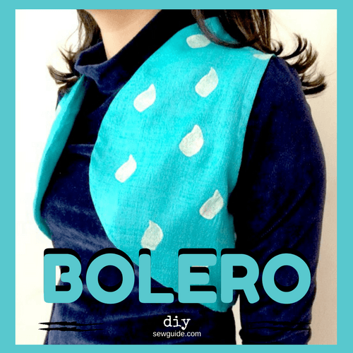 bolero diy sewing pattern