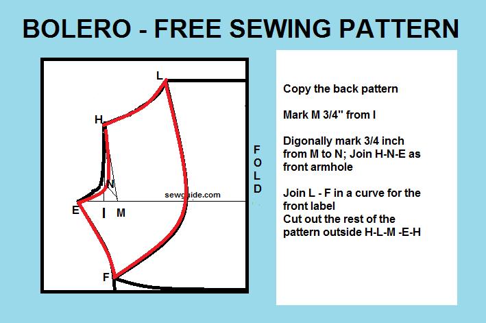 bolero pattern