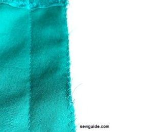 bolero stitching