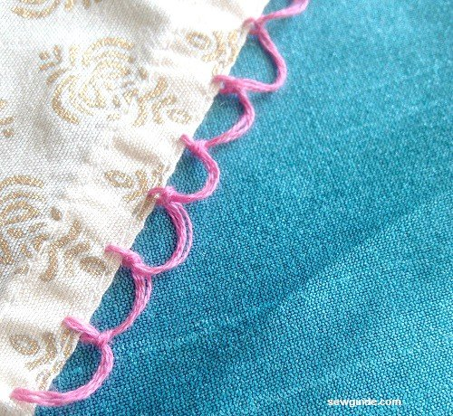 braided hem stitch