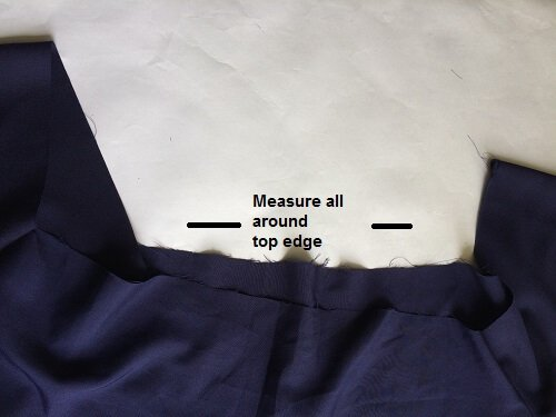 Then join the sides together. You can start from the hem and continue stitching in one line till the sleeve hem. Do the same for both sides. You will get a ...