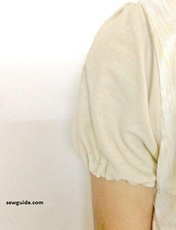 sew puff sleeves