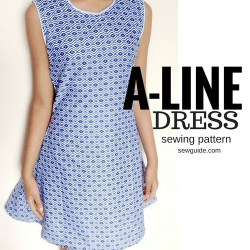 how to sew an aline dress