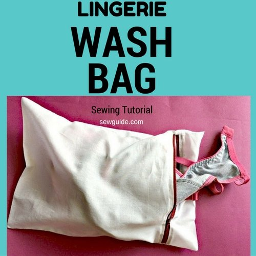 lingerie / delicates wash bag