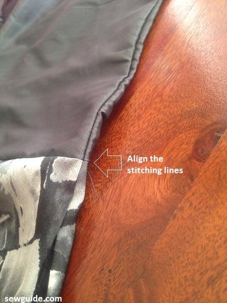 a line dress sew