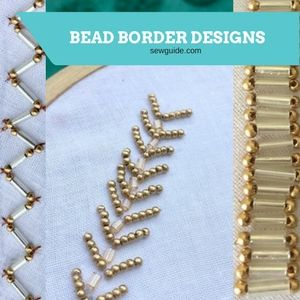 bead border designs