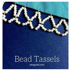 make beaded tassels