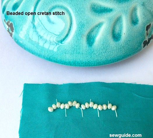 bead work embroidery stitches