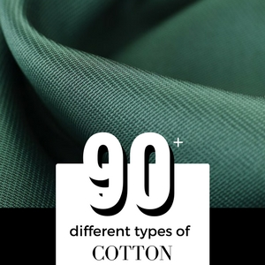different types and names of cotton
