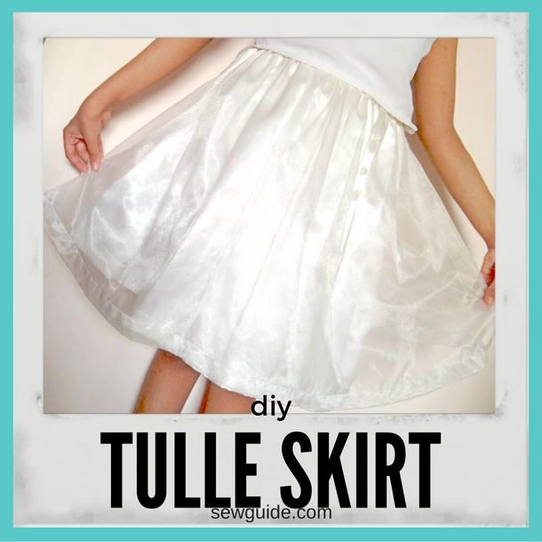 How To Make A Tulle Skirt 2 Easy Ways Sew Guide
