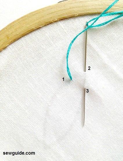 reverse herringbone stitch