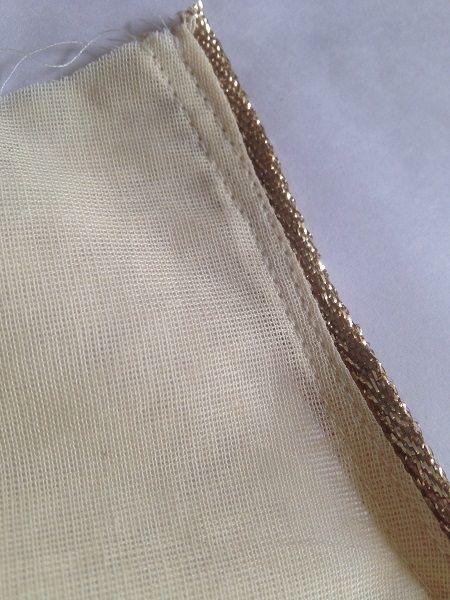 panel dress sewing