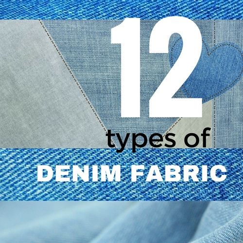 types of denim