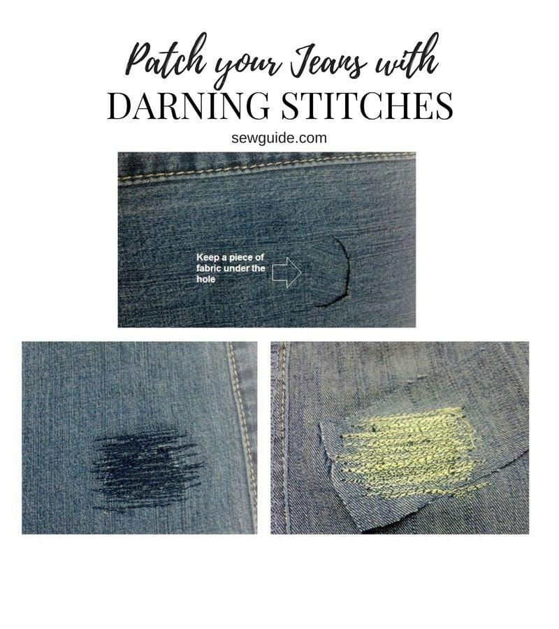 Mending of tears in fabric {9 best methods including