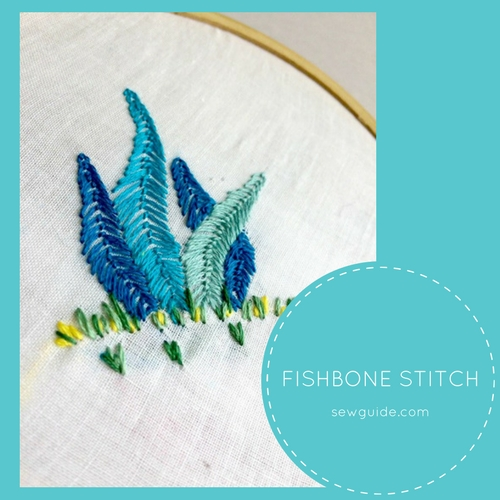 fish bone stitch
