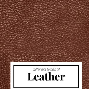 what is leather