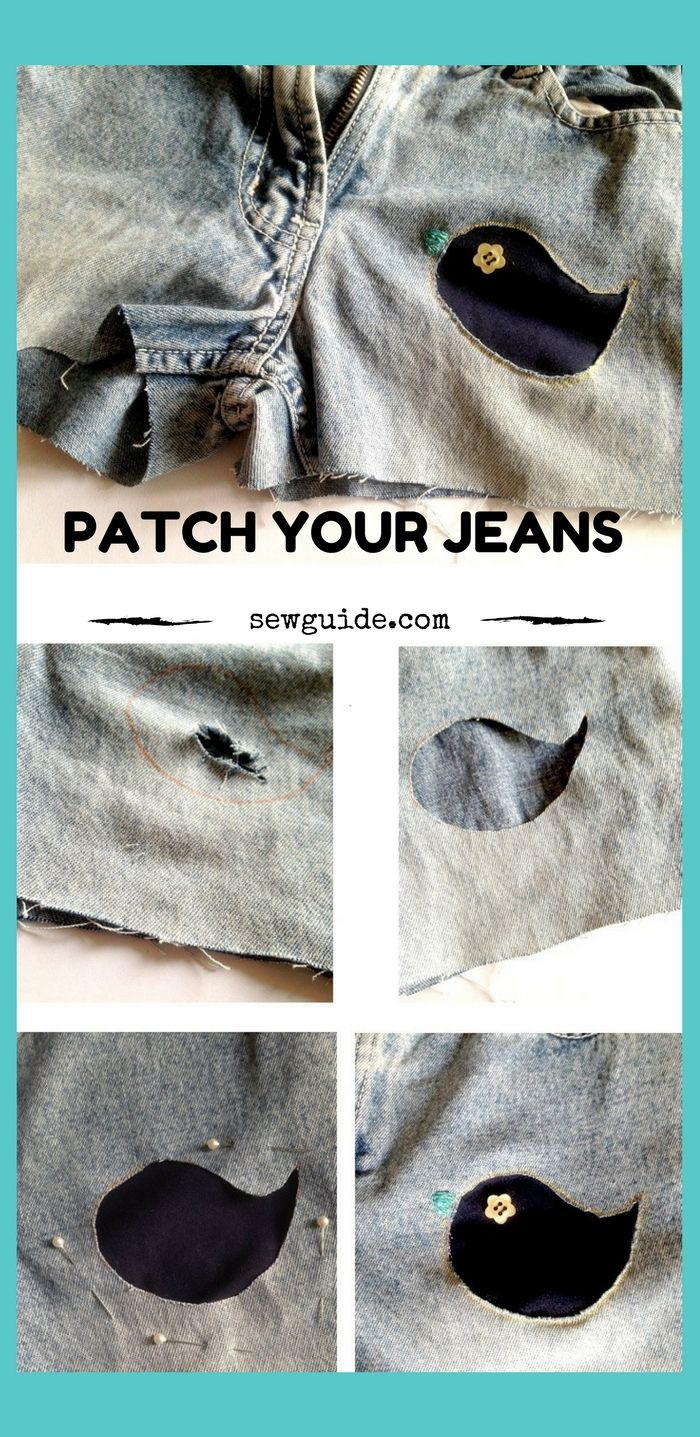 how to patch holes in jeans