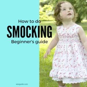 smocking tutorial