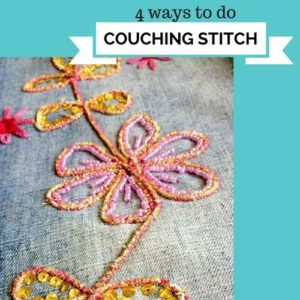 couching stitches