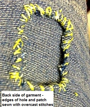 9 ways to attach PATCHES  on clothes