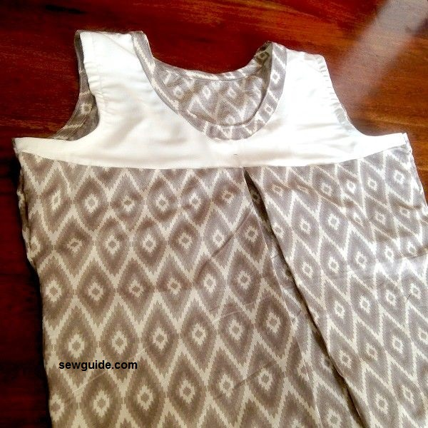 How to make a shift dress - DIY Pattern