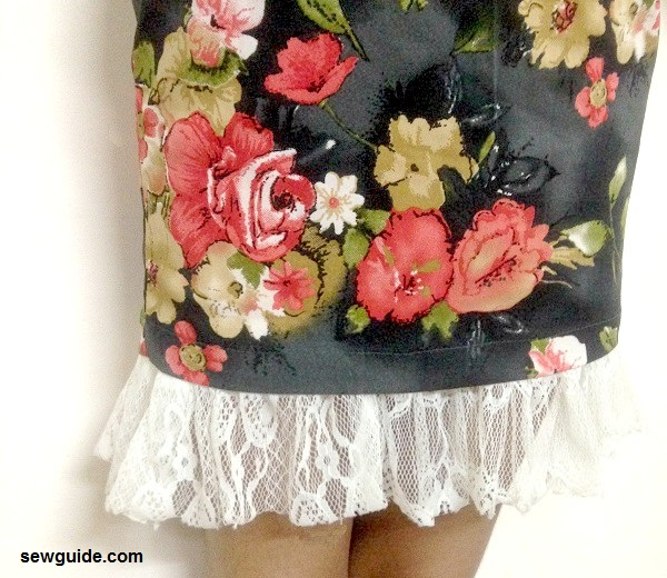 diy skirt exteder